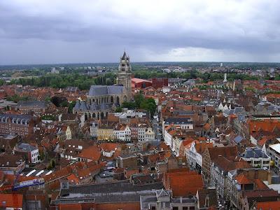 Panorama orasului Brugge