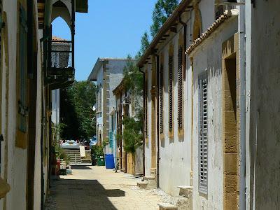 Imagini Nicosia de Nord: strazi care dau spre Linia Verde