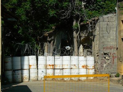 Imagini Cipru: baricade pe Linia Verde