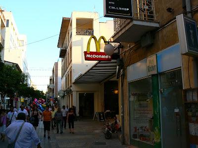 Imagini Cipru: la sud de Linia Verde, strada Ledra