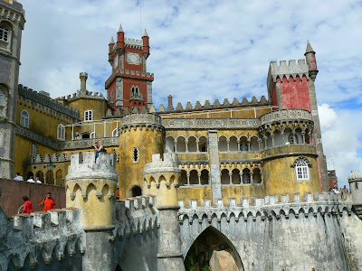 obiective turistice Portugalia: Palacio Pena Sintra