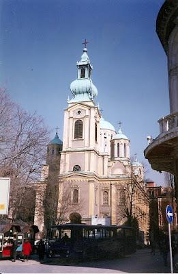 Imagini Bosnia: catedrala ortodoxa Sarajevo