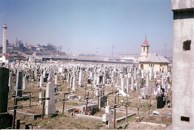 Imagini Sarajevo: cimitirul de langa patinoarul olimpic