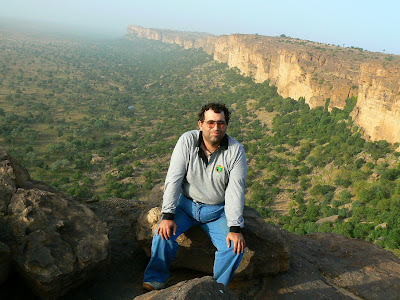 Obiective turistice Mali: escarpement Pays Dogon