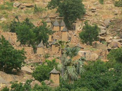 Imagini Mali: sat traditional Pays Dogon