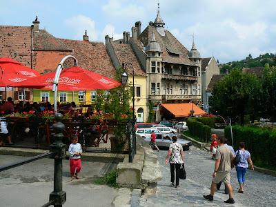 Imagini Romania: Orasul de Jos Sighisoara