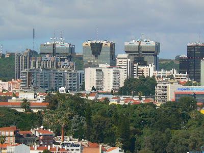 Imagini Portugalia: panorama Lisabona moderna