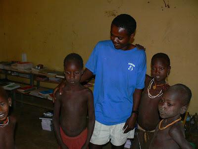 Imagini Etiopia: scoala din sat hamer
