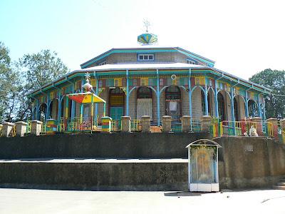 Imagini Etiopia: biserica din Entoto