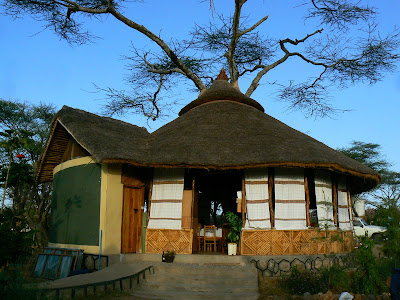 Cazare Etiopia: Turmi Resort restaurant