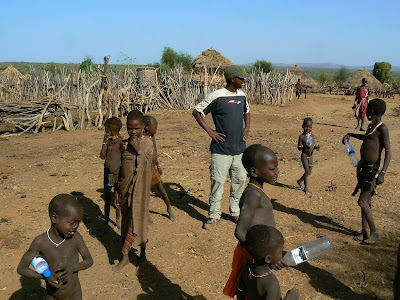 Imagini Etiopia: Hamer - sat african