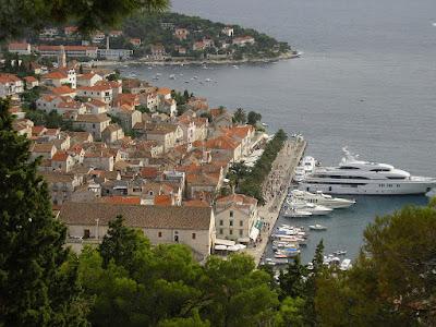 Imagini Croatia: orasul vechi Hvar