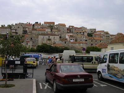 Imagini Croatia: sosirea in Hvar