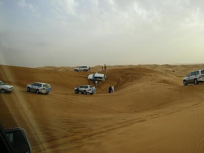 Imagini Dubai: Safari in desert pe dune