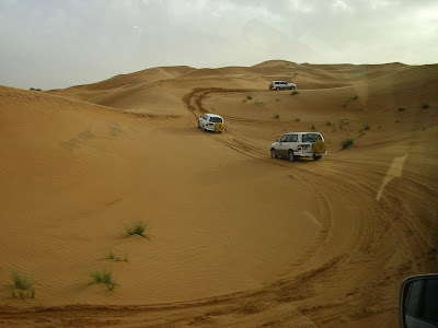 Obiective turistice Dubai: Safari in desert