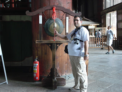 Imagini Japonia: templul Todai-Ji, Nara, sa chemam zeii