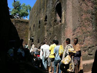 Obiective turistice Etiopia: Bet Golgota Lalibela