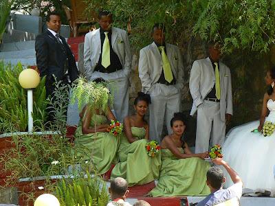 Imagini Etiopia: nunta la Addis Ababa