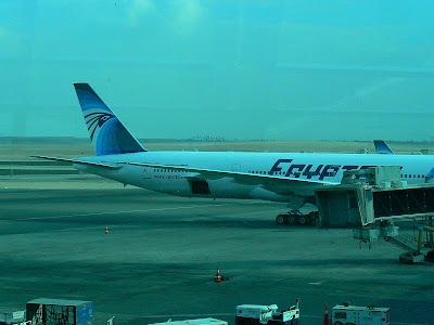 Imagini Egipt: avion EgyptAir Cairo - Larnaca