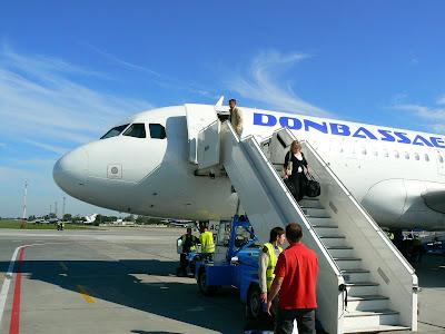 avion Aerosvit - Donbass Aero