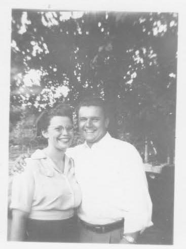 Great Grandpa Carl Dysart and Great Grandma Dot Dysart