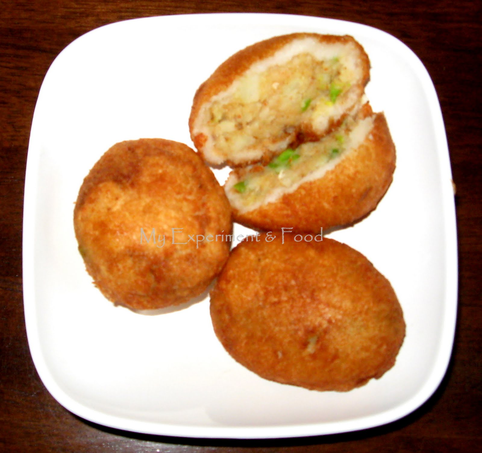 Recipes of snacks made from potatoes