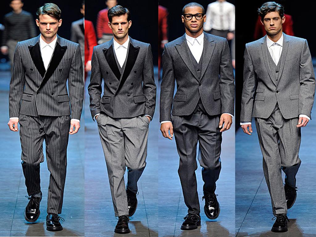 ازياء رجال ماركة Dolce & Gabbana Dolce+%2526+Gabbana+Menswear+Fall+2011-8