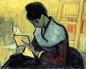 (La lectrice de roman) Vincent Van Gogh, 1888