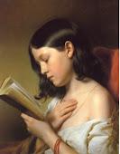 (Lesendes Mädchen) Franz Eybl, 1850