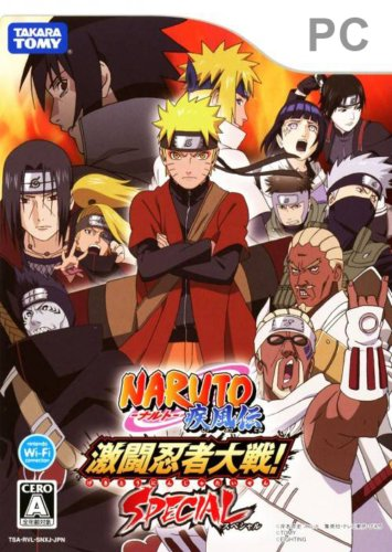 NARUTO Shippuuden Gekitou Ninja Taisen Special (PC/2010/JAP)