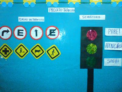 Educando com amor 19 a 25 de setembro semana do tr nsito for Mural sobre o transito
