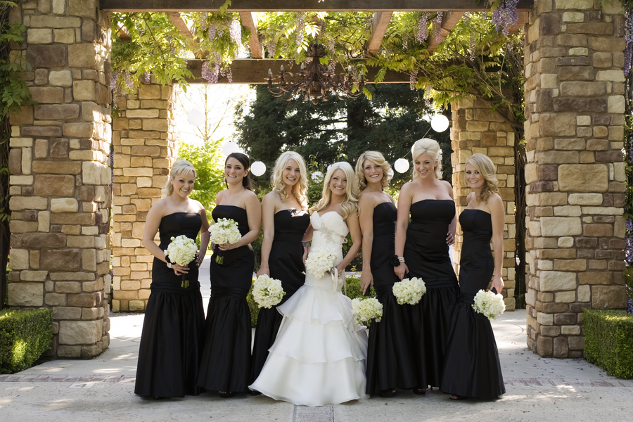 Black And Ivory Wedding Reception Image collections - Wedding ...