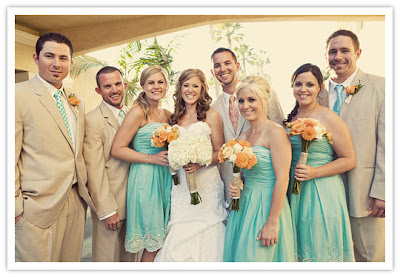 Semplicemete Perfetto Wedding Planner matrimonio arancione azzurro