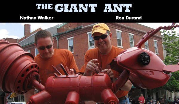 Nathan Walker - the giant ant blog