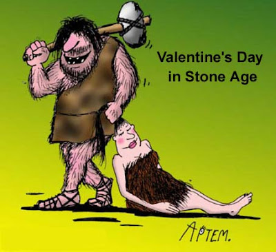 Funny Pictures: Stone age valentine's day