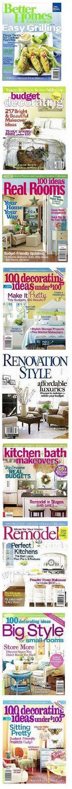 Red Door Home has been featured in these magazines