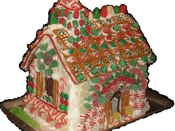 Red Door Home Gingerbread House Decorating Party