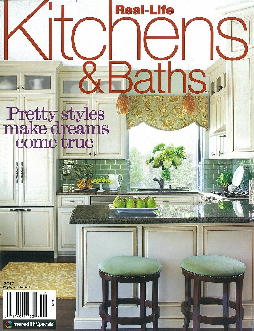 Kitchen And Bath Magazine Red Door Home May 2010