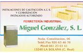 Ferreteria Industrial Miguel Gonzalez