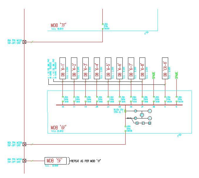 Single Line Wiring Diagram. Schematic Diagram. Electronic Schematic Diagram