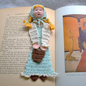 Jill with Pail reading character Bookmark Pattern (PDF File)