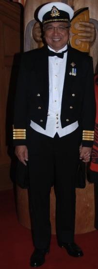 Mess kit military evening dress