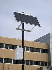 roteador Wi-Fi Solar