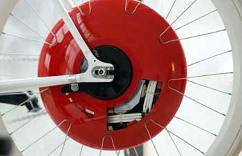 Roda bicicleta Copenhagen Wheel