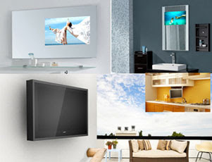 Luxurite Glass TV 82 polegadas