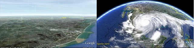 Google Earth tempo real
