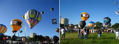 Balão ecológico sem bucha