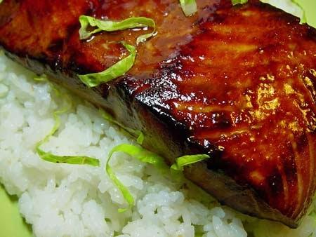 Cocina china salm n con salsa dulce for Como se cocina el salmon