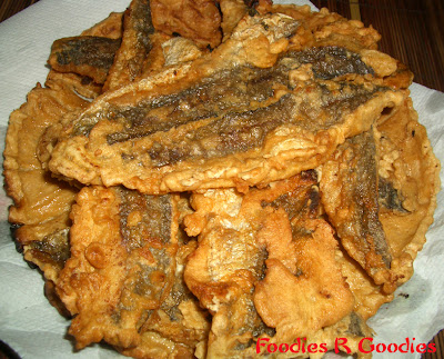 Foodies r goodies my cooking deep fried battered for How to cook whiting fish