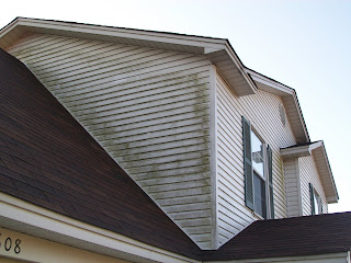 Dirty siding in Little Rock Arkansas